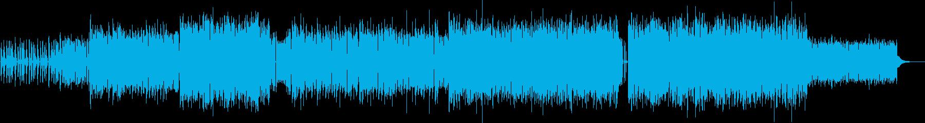 カッコよくてノレるエレクトロポップの再生済みの波形