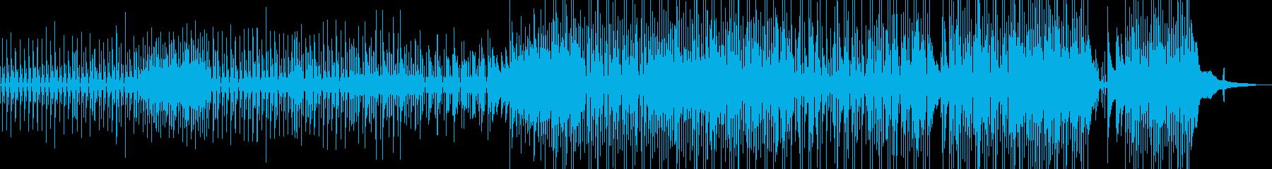 ウクレレ・後半賑やか 日常作品に B★の再生済みの波形