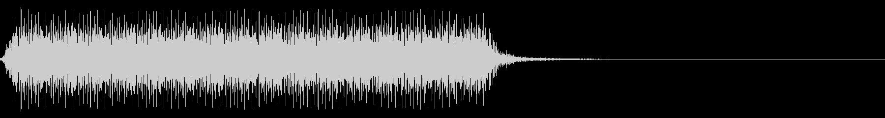 自動車のクラクション(長い)の未再生の波形