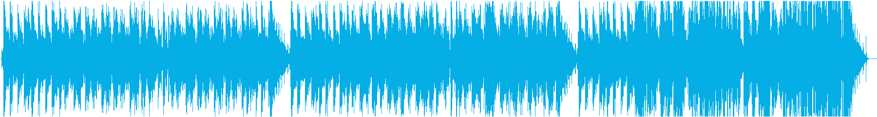 ジャジーでお洒落なR&B系ヒップホップの再生済みの波形