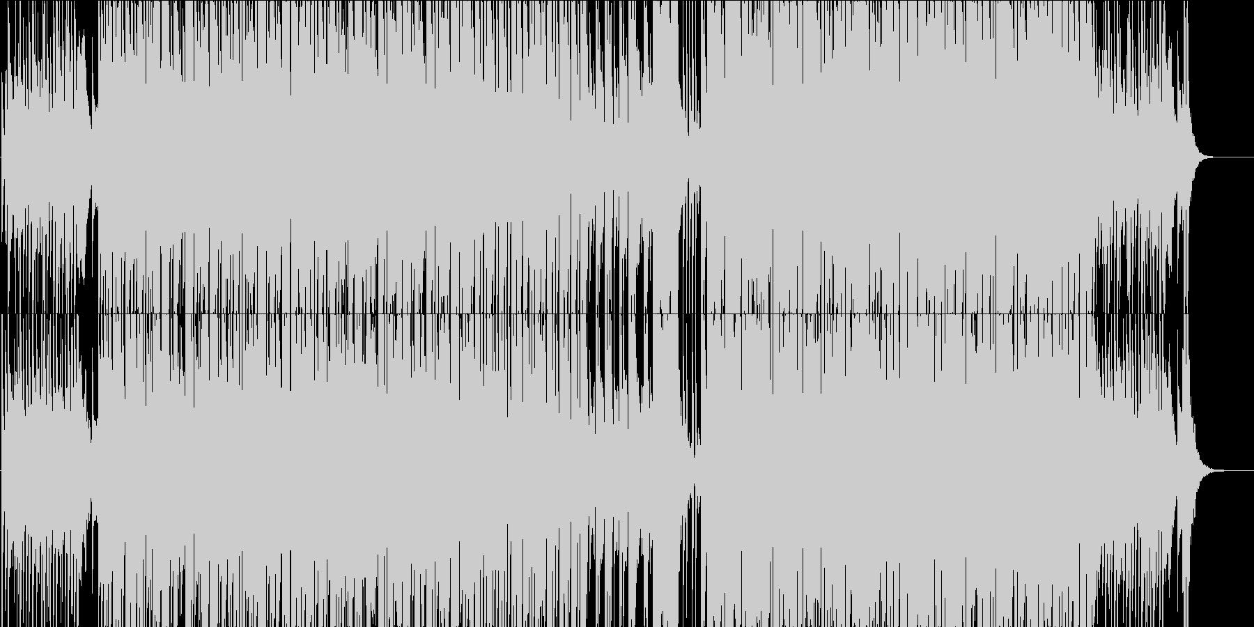 元気なエレクトロ・現代系日常モノなどにの未再生の波形