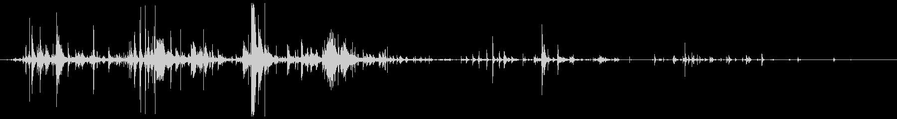 グラスデブリスピル、クラッシュグラ...の未再生の波形