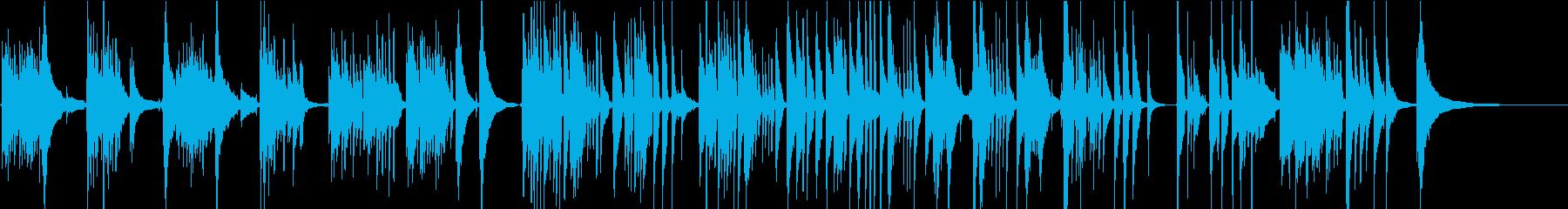 メランコリックでしっとりとしたソロギターの再生済みの波形
