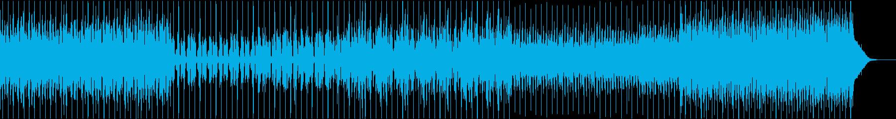 ノスタルジック ピアノ EDM ダブステの再生済みの波形