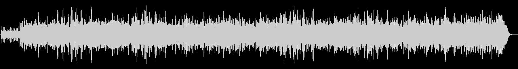 かわいらしいシンセ・木琴などのサウンドの未再生の波形