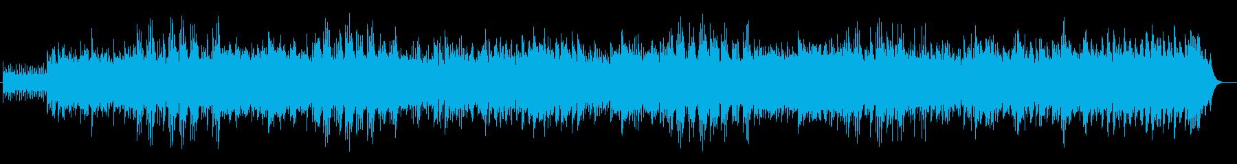 かわいらしいシンセ・木琴などのサウンドの再生済みの波形