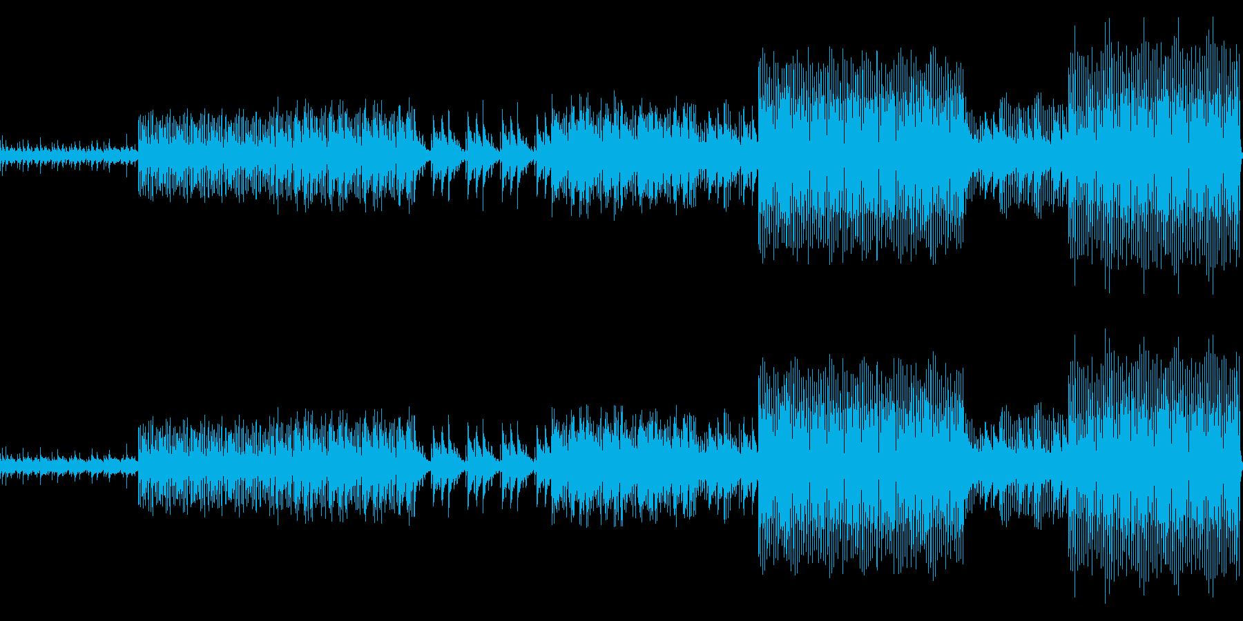 ニューディスコの再生済みの波形