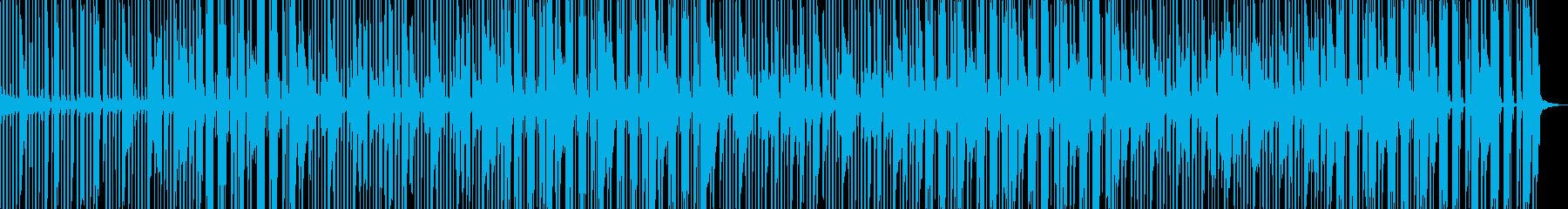 ピアノとブラスの軽快なビバップの再生済みの波形