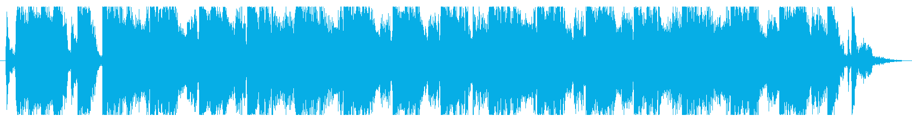 マイナーな雰囲気のロック_No390_4の再生済みの波形