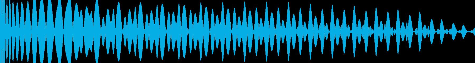 EDM キー(G)入りキックの再生済みの波形