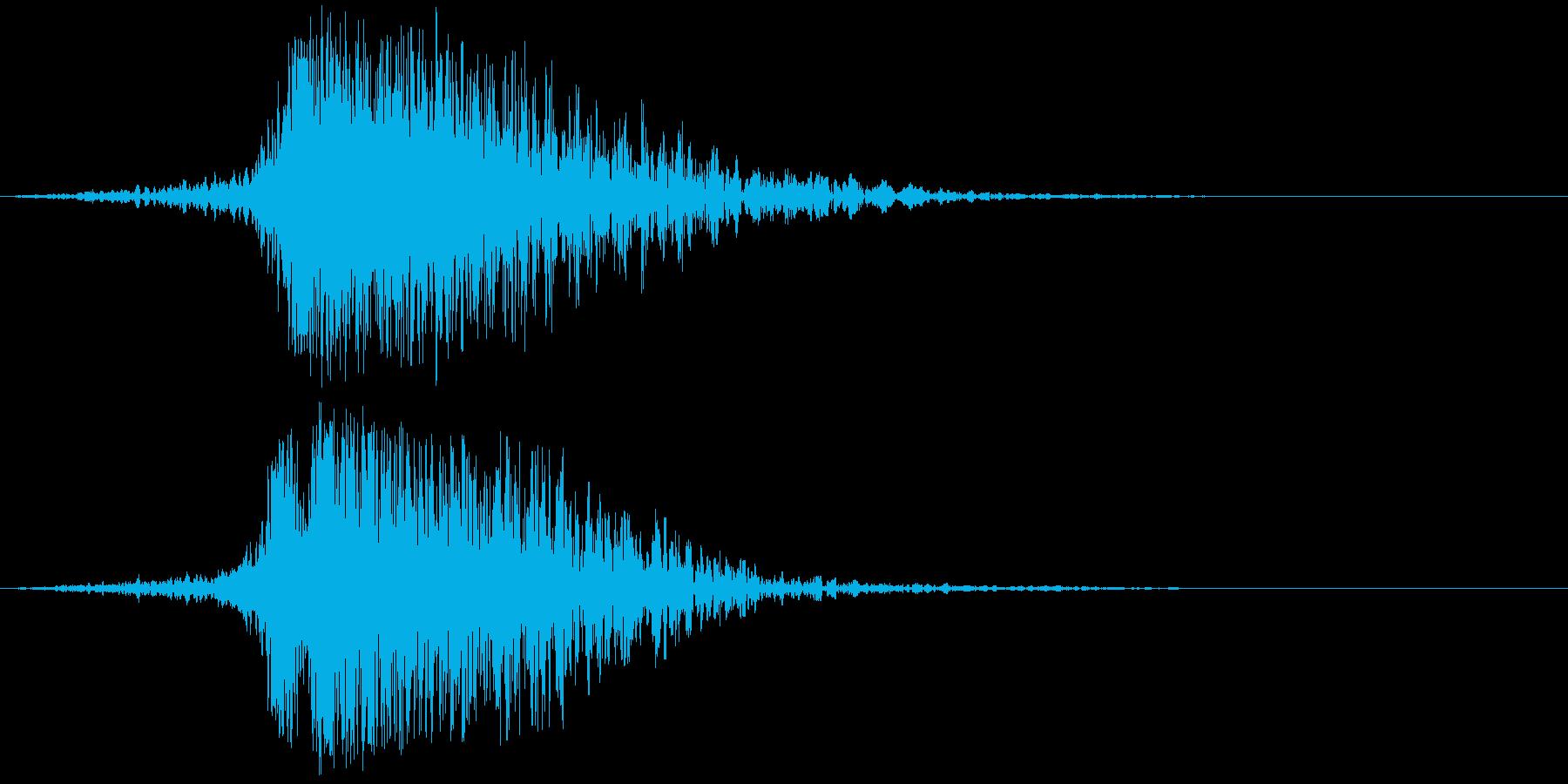 【インパクト】キーン・・・ドンッ!!の再生済みの波形