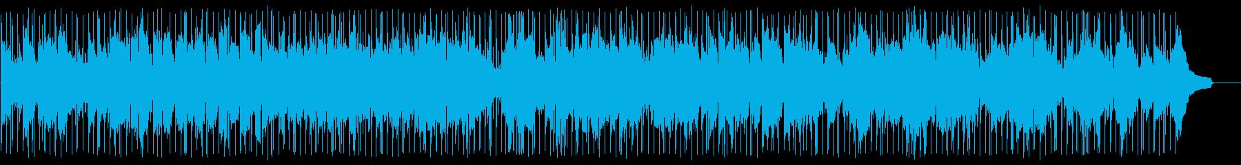 平凡な日々のスムースジャズの再生済みの波形