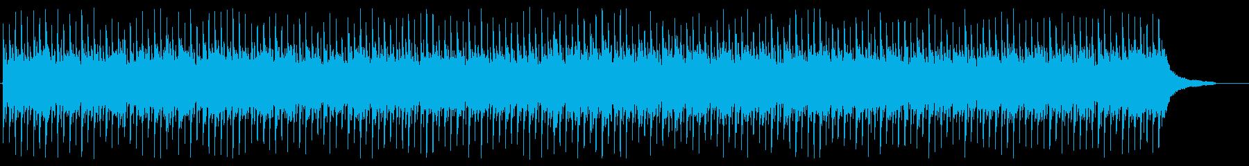 元気なCMソングの再生済みの波形