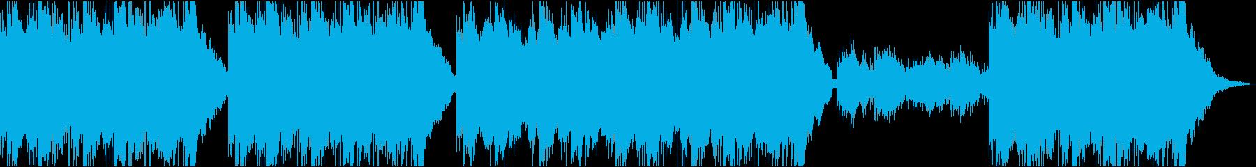 アコギメインの爽やかポップの再生済みの波形