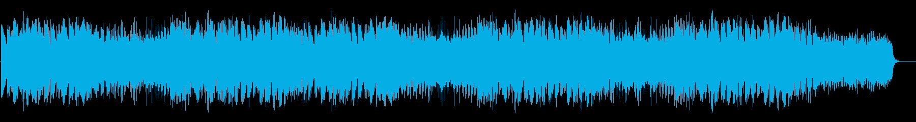 高貴なモノローグを意識したタイトル風の再生済みの波形