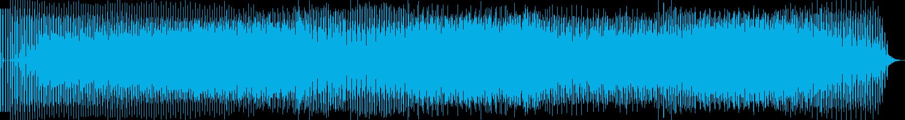 劇伴 ミドルテンポのミニマルテクノの再生済みの波形