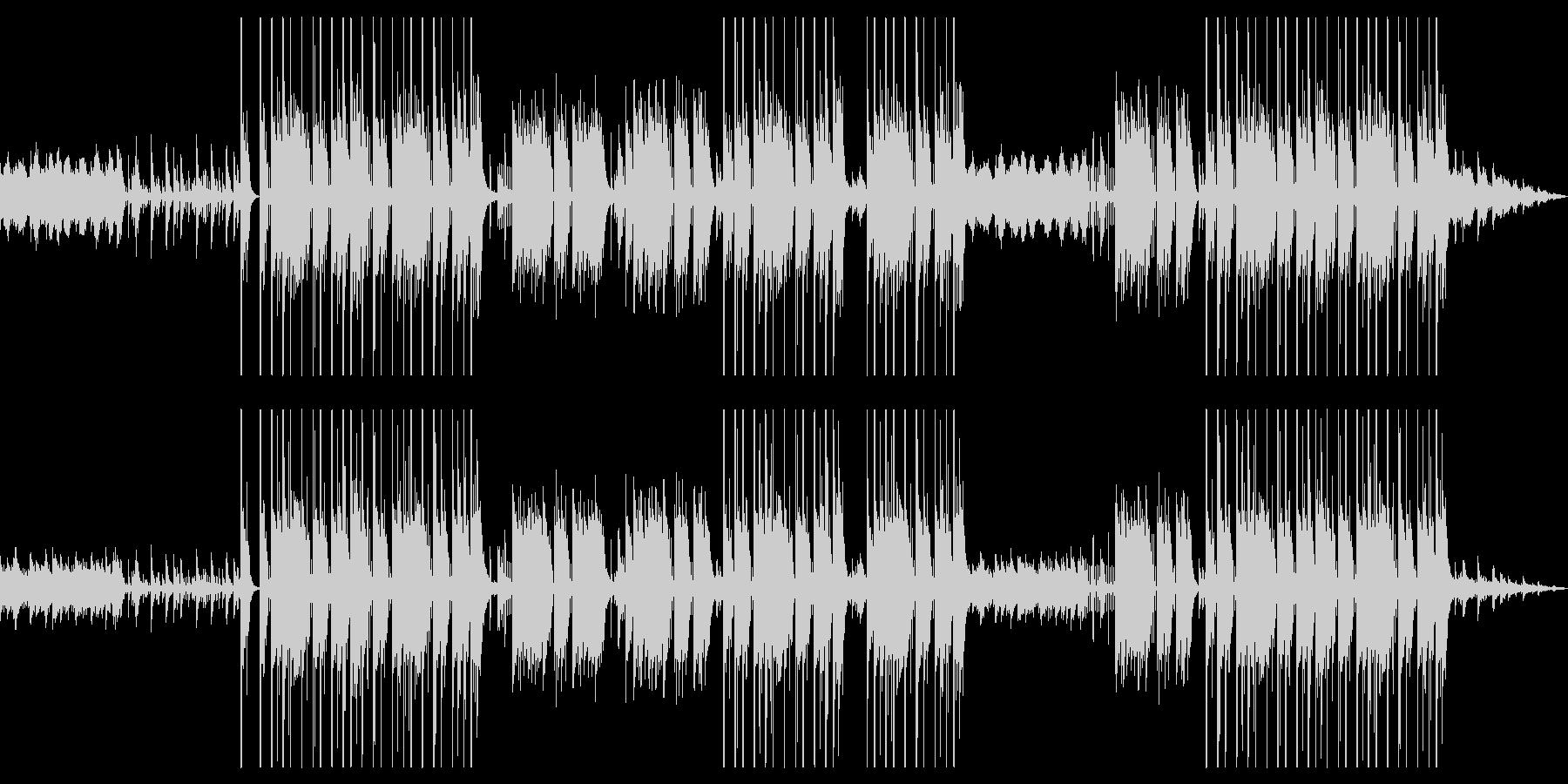ピアノメインのメロディックなトラップの未再生の波形