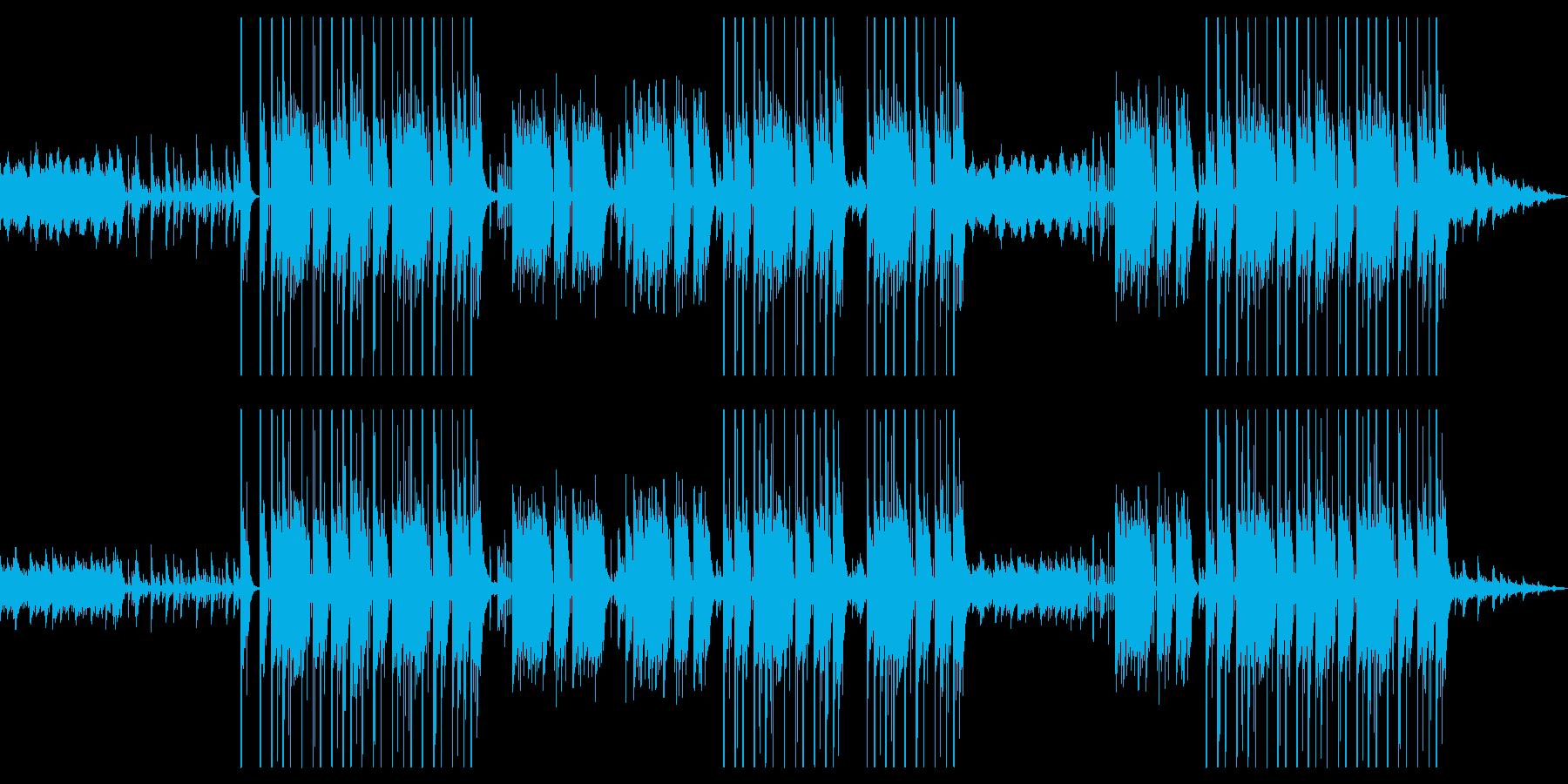 ピアノメインのメロディックなトラップの再生済みの波形
