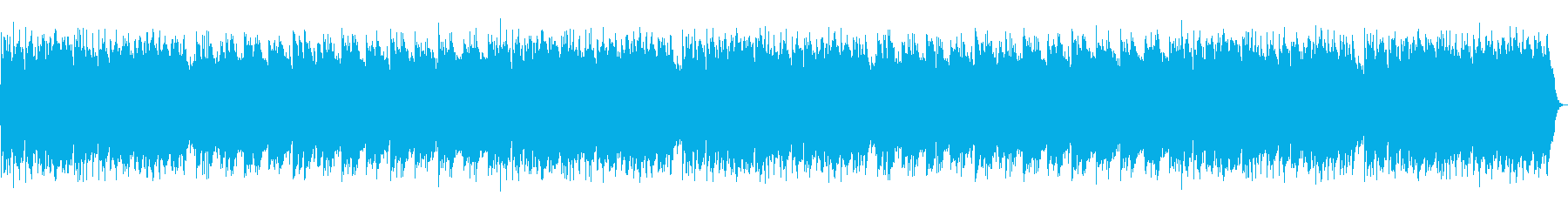 フルート、ハープシコード、ハープ、...の再生済みの波形