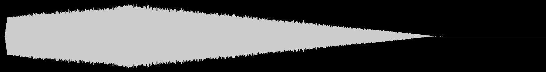 おばけが浮かぶようなコミカルな効果音_2の未再生の波形