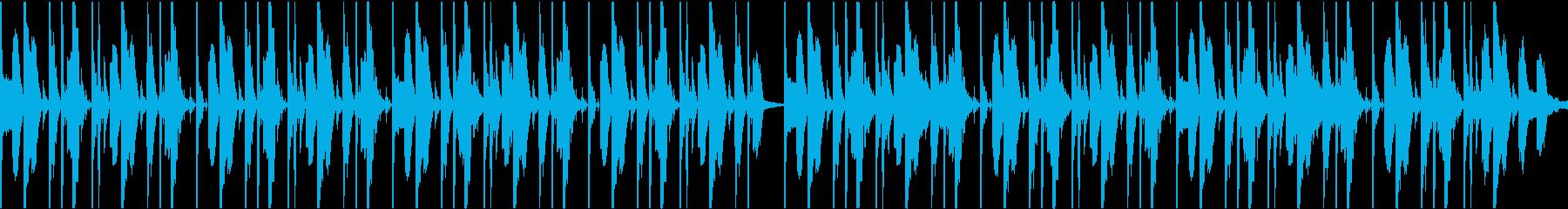 ダンサブルなファンクビート ver.2の再生済みの波形