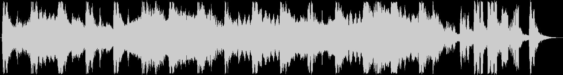 クラシカルなシンセサウンド短めの未再生の波形