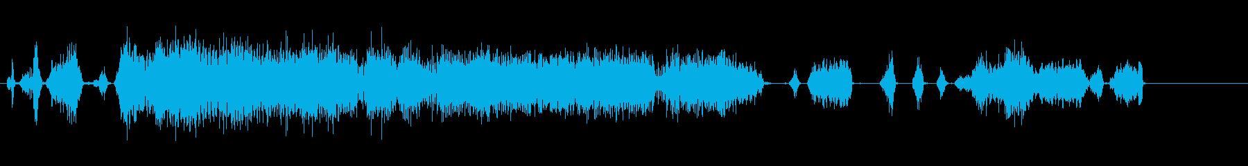 R / Cカー;ラジコン電気自動車...の再生済みの波形