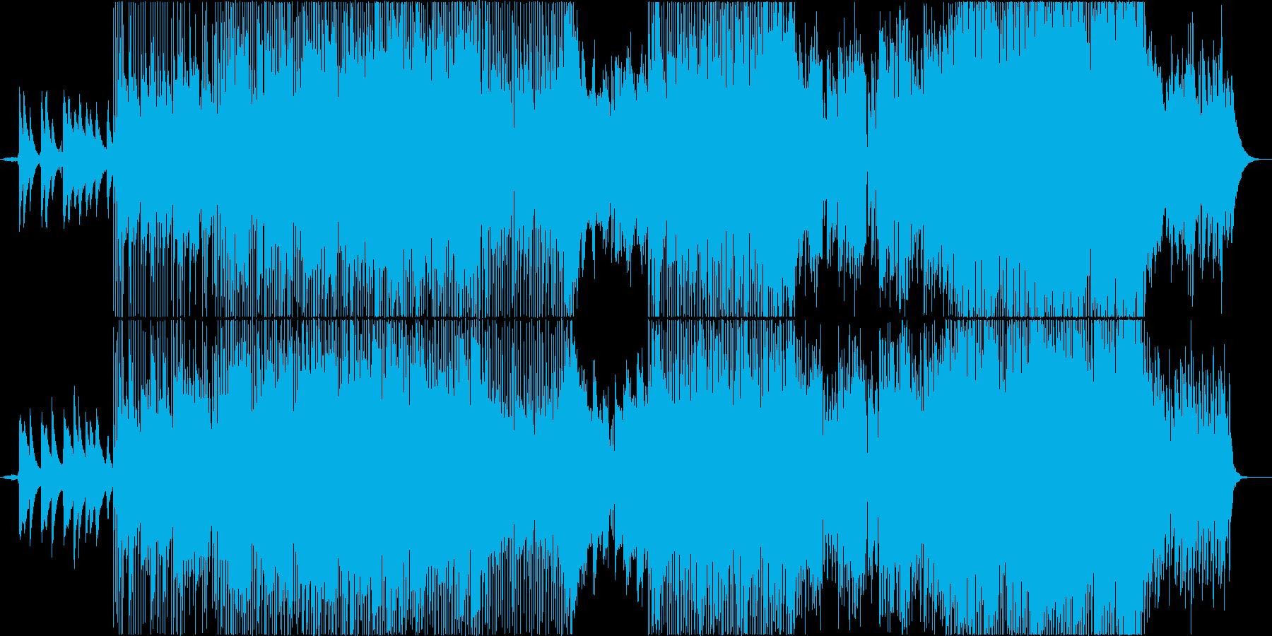 横ノリがキモ。クールで洒落たフュージョンの再生済みの波形