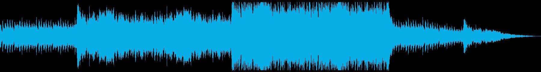 疑惑が重なりより深く重くなるような曲の再生済みの波形
