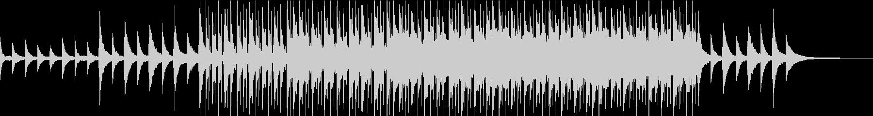 ピアノで奏でるチャイムがダンスビートにの未再生の波形