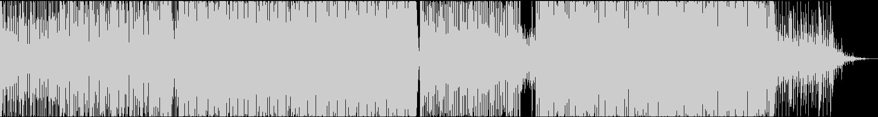 トロピカルハウス風味のパーティーEDMの未再生の波形