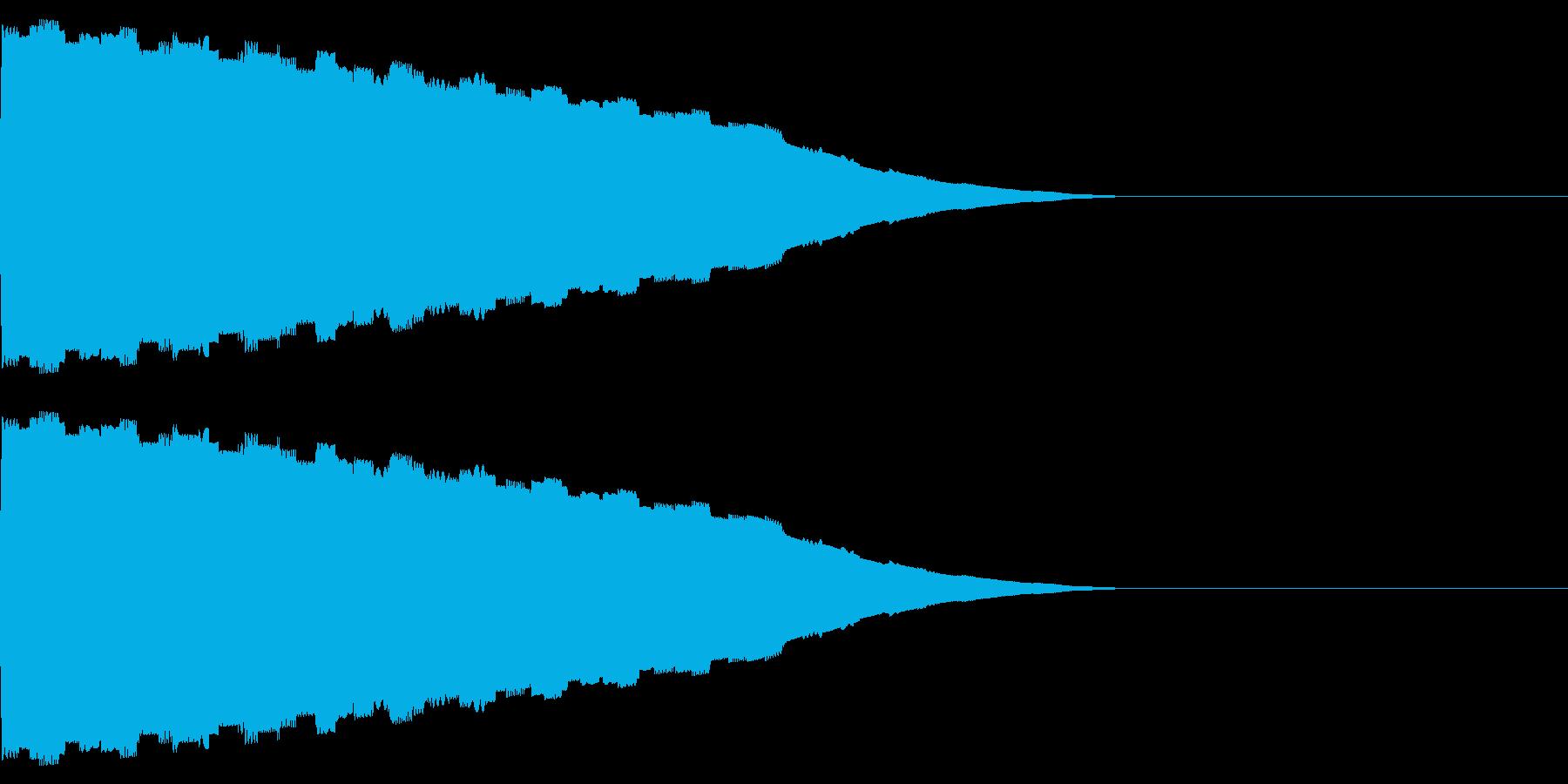 ピロピロ(ワープ/宇宙ピコピコSFの再生済みの波形