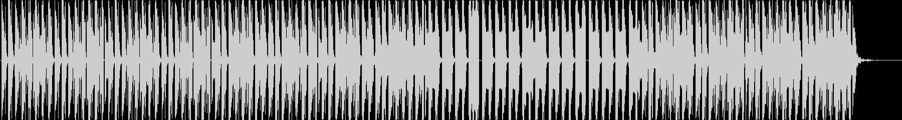 ロボットがダンスするようなエレクトロの未再生の波形