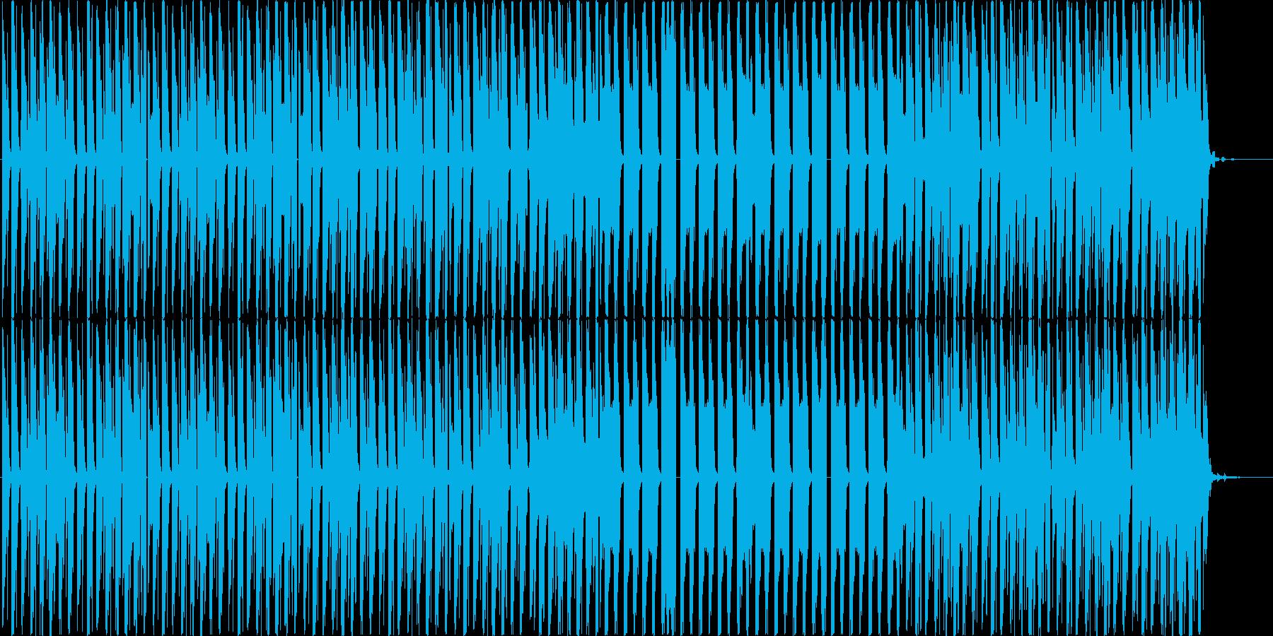 ロボットがダンスするようなエレクトロの再生済みの波形