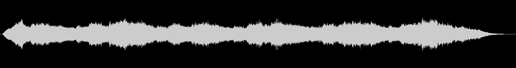 不思議な音色の浮遊感あるアンビエントの未再生の波形