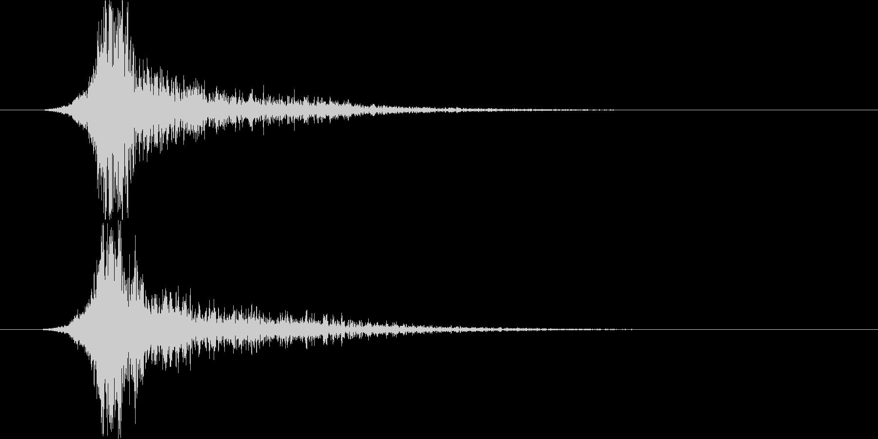 インパクトメタリックビッグショッキ...の未再生の波形