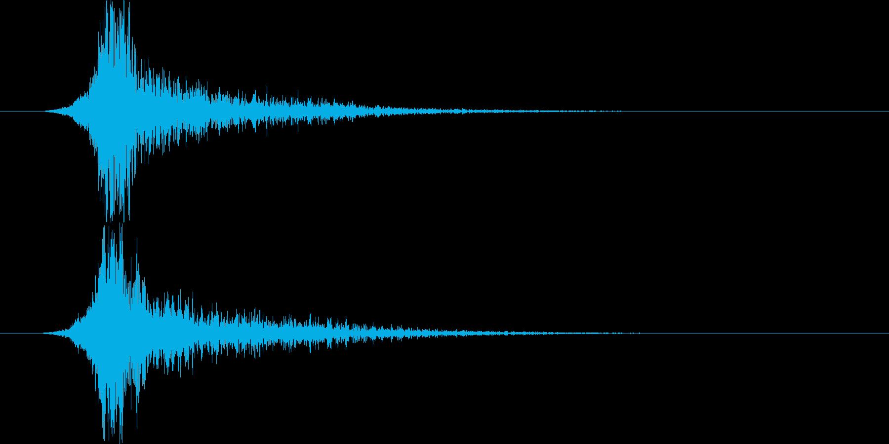 インパクトメタリックビッグショッキ...の再生済みの波形