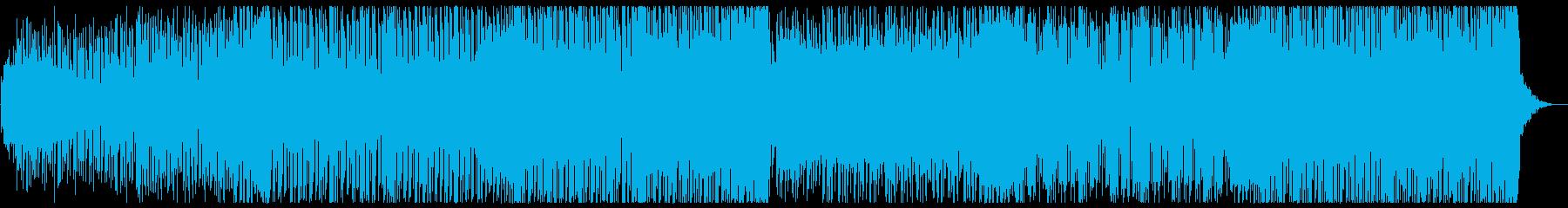 キラキラなkawaiiフューチャーベースの再生済みの波形