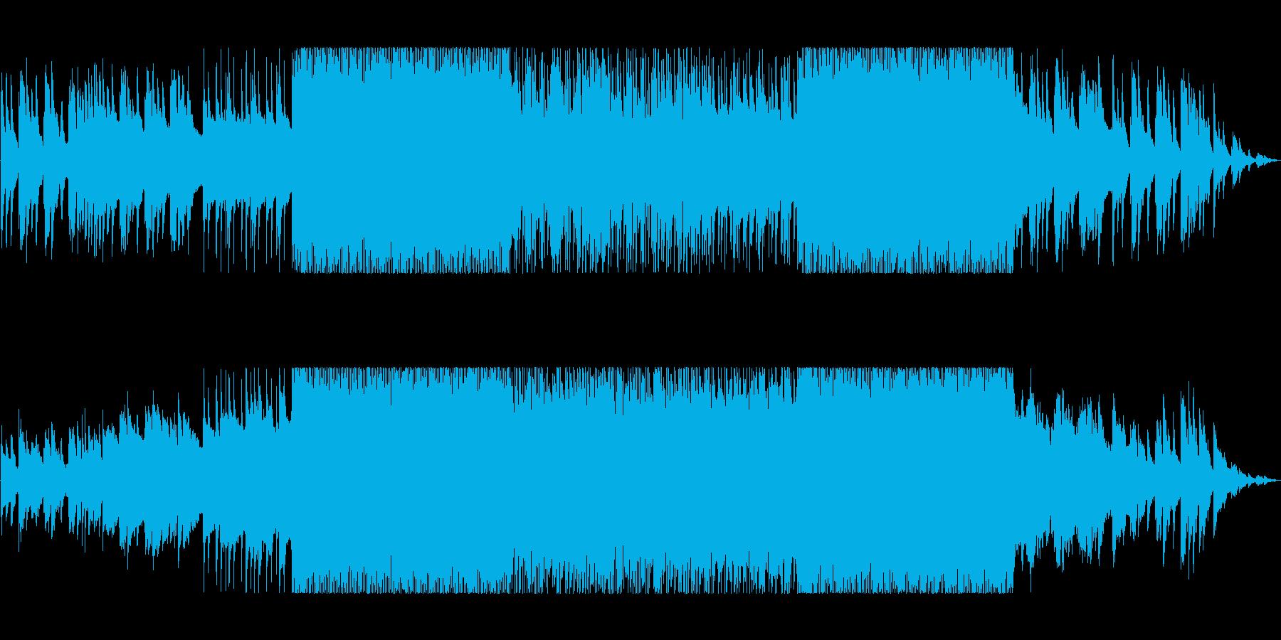 ポップロック。エレクトリックピアノ...の再生済みの波形