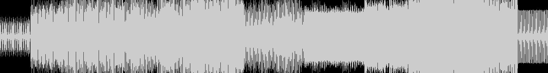 暗い雰囲気のEDM(サンプリングボイス無の未再生の波形