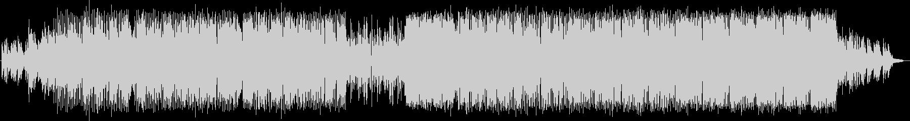 映像作品向けバラードEDMの未再生の波形