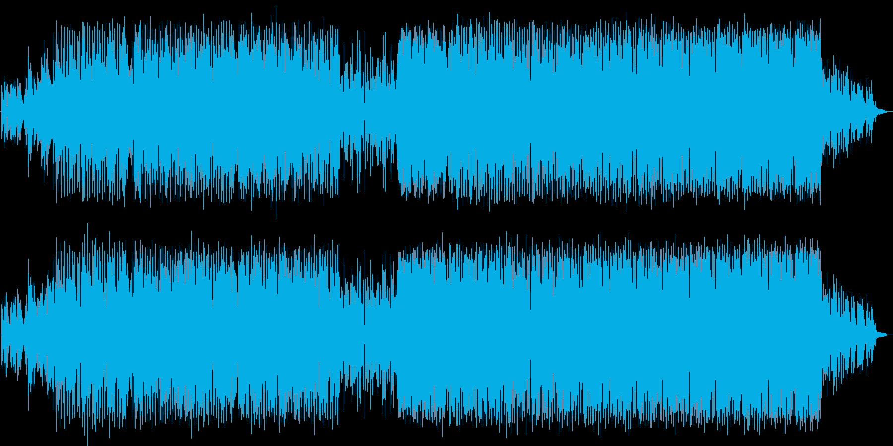 映像作品向けバラードEDMの再生済みの波形