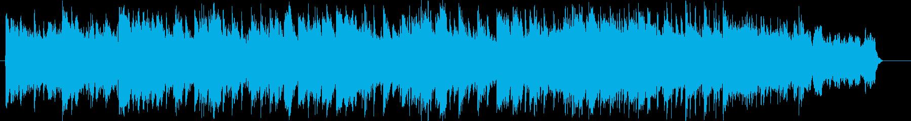 ブライダル向けのしっとりしたピアノBGMの再生済みの波形