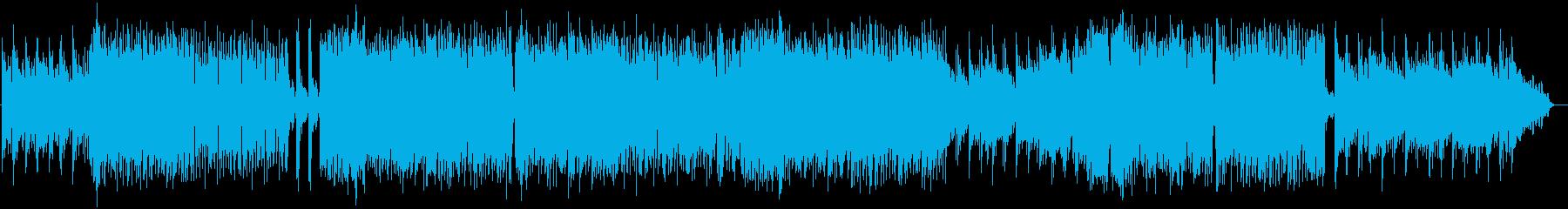 爽やかで切ないロックバラードの再生済みの波形