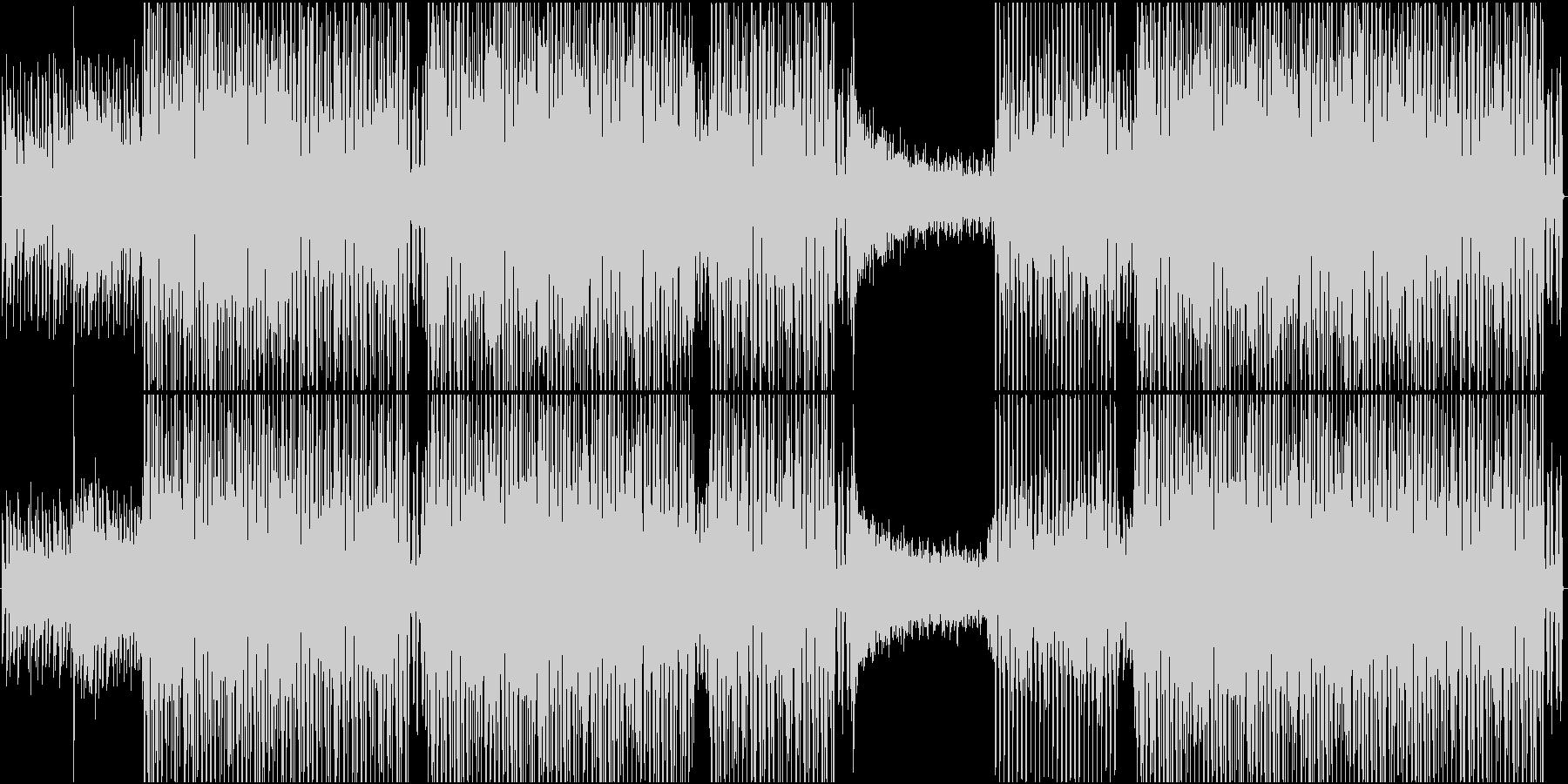素朴で無邪気なエレクトロポップの未再生の波形