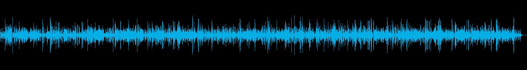 ゆったり癒されるお洒落なピアノBGMの再生済みの波形