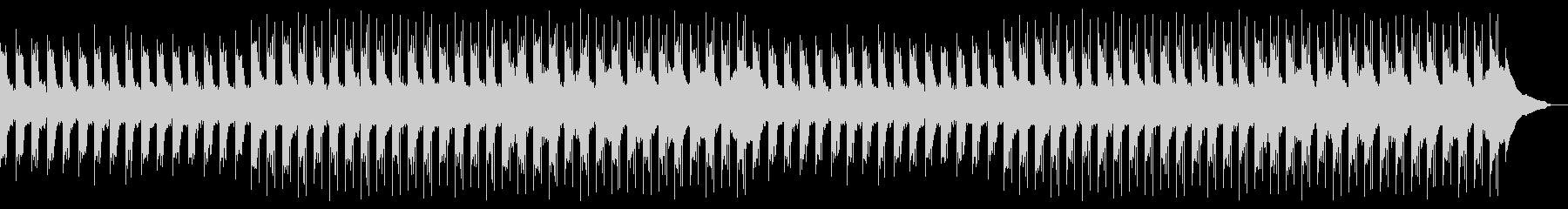 穏やかで幻想的なピアノアンビエント1の未再生の波形