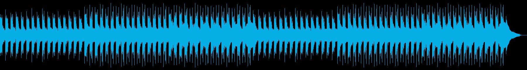 穏やかで幻想的なピアノアンビエント1の再生済みの波形