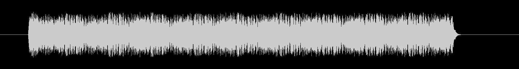 スネアドラムのドラムロールの未再生の波形