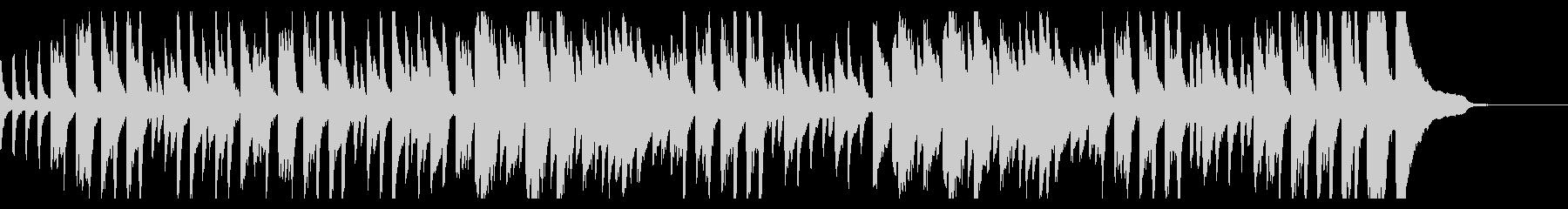 ピアノ練習曲/ブルグミュラーアラベスクの未再生の波形